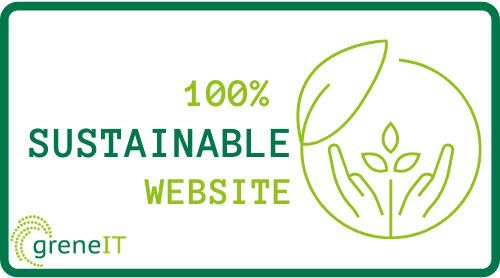 Sustainable Badge from greneIT